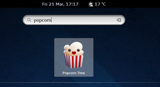 popcorn time desktop icon